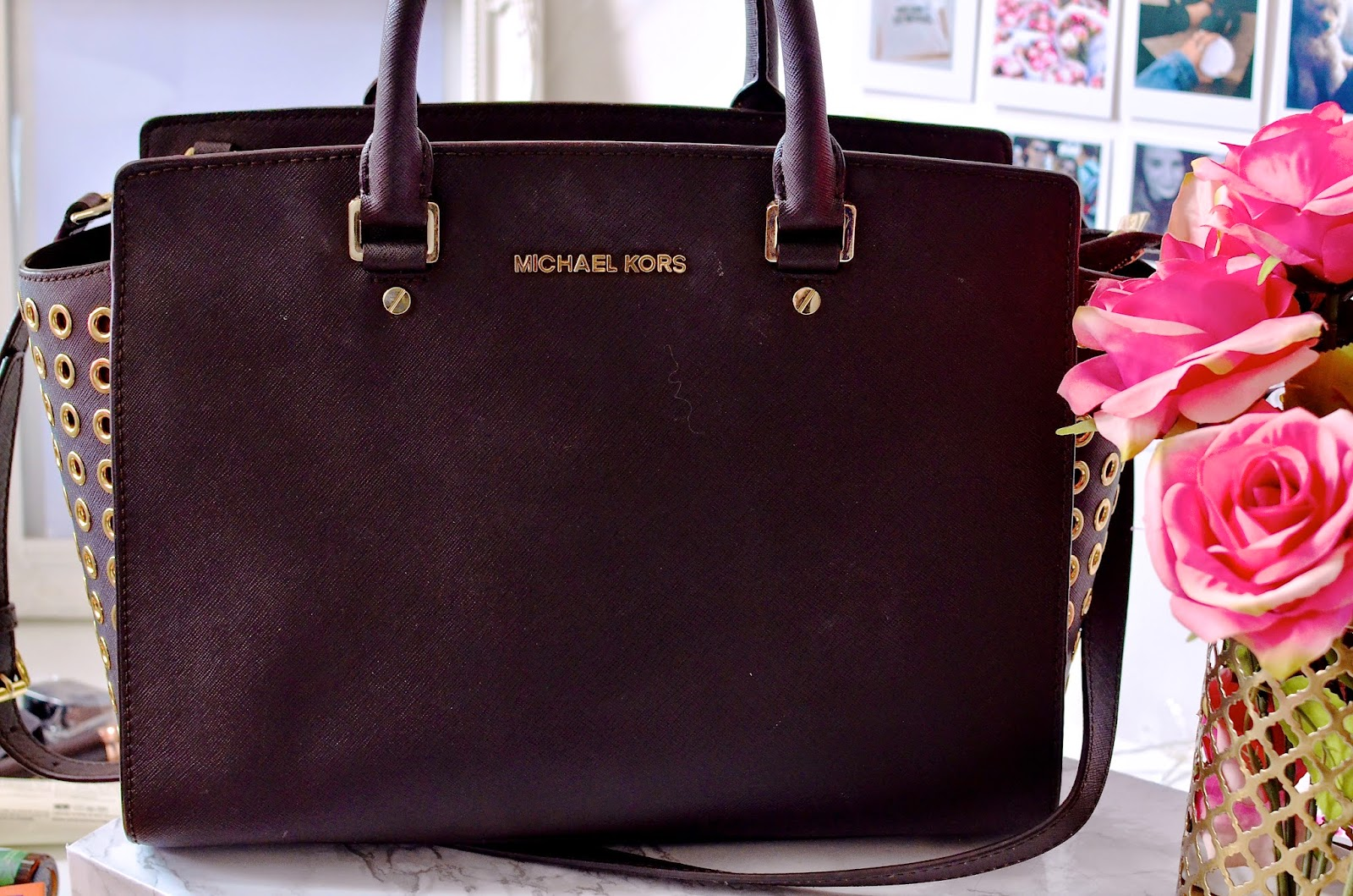 whats in my handbag, things you'll always find in my handbag, Michael Kors, handbag, selma bag, Michael Kors Selma bag, designer bag,