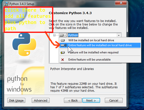 how to download python for windows 7