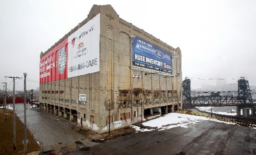 the cold-storage building officially known as the distribution terminal warehouse is located in clevelandu0027s tremont neighborhood and itu0027s coming down to ... & mouse medicine: wrecking ball