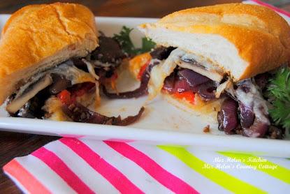 Baked Veggie Sandwich