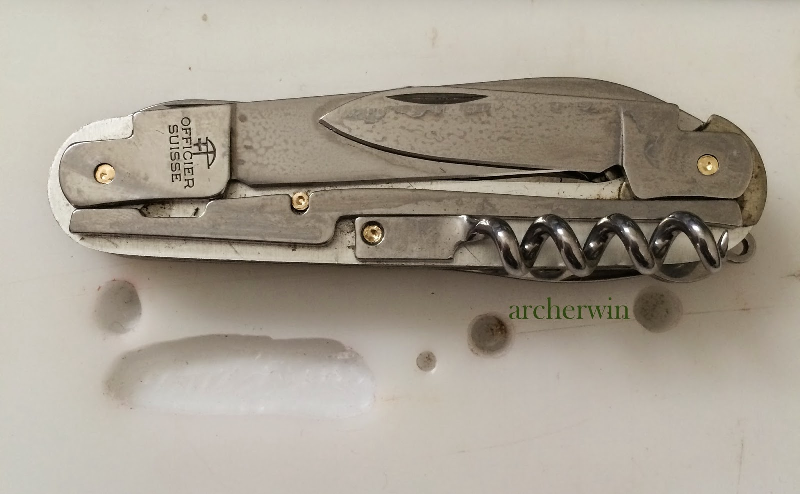 Archerwin S Swiss Army Knives Sak Deconstructed