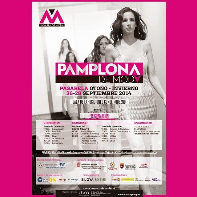 Pamplona fashion: Pamplona moda:Dana models: desfiles moda