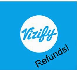Vizify offers sunset refunds