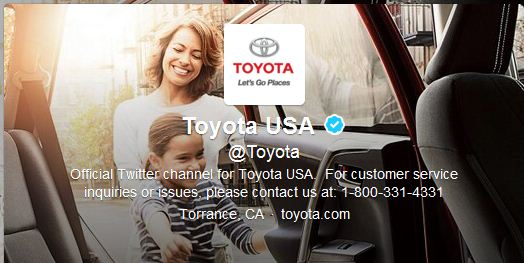 Best Cool Twitter Headers Toyota automaker