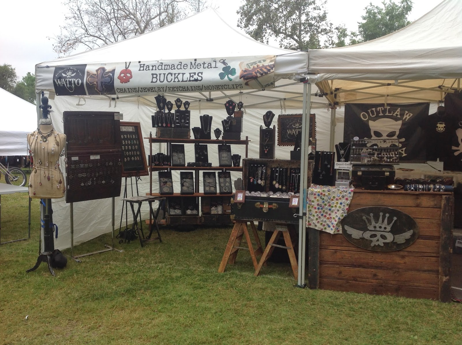 WATTO Distinctive Metal Wear and WATTO's Wife Booth at Born Free 6