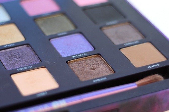 Another close up of the Vice 2 palette