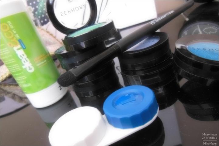 Comment se maquiller quand on porte des lentilles de contact : choix des produits, pinceaux et application du maquillage
