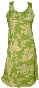 Green Hawaiian Dress