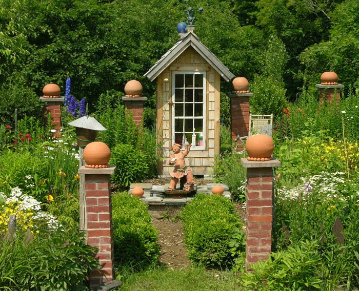 Whimsical Garden Art Photograph Whimsical Garden
