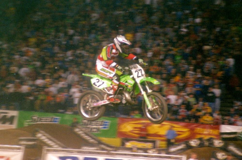 Casey Johnson Pontiac Supercross 2001