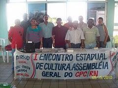 DIRETORIA DO CENTRO POTIGUAR DE CULTURA-CPC/RN