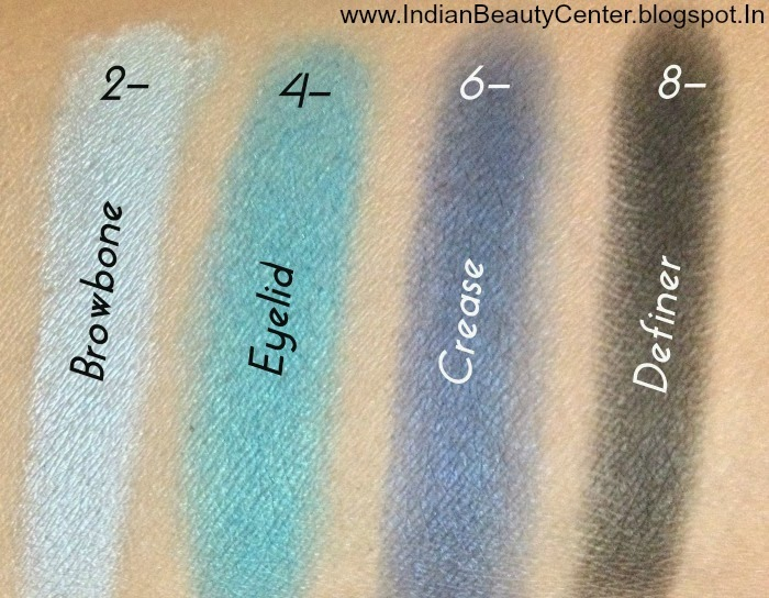 Wet n Wild Coloricon 8-Pan Eyeshadow Palette Swatches