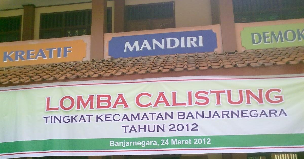 Upt Dindikpora Kecamatan Banjarnegara Lomba Calistung 2012 Tingkat Kecamatan Banjarnegara Digelar