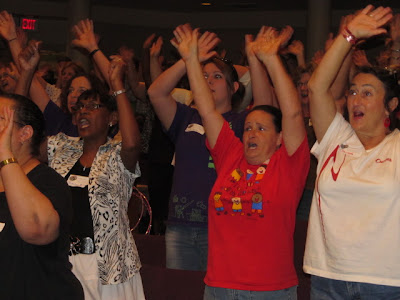photo of: Happy Teacher Enthusiasm for Music as Motivator
