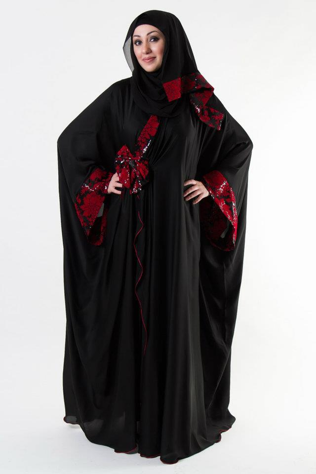 Abaya | Abaya Designs Collection 2013-2014 | Abaya's from Al-Karam ...