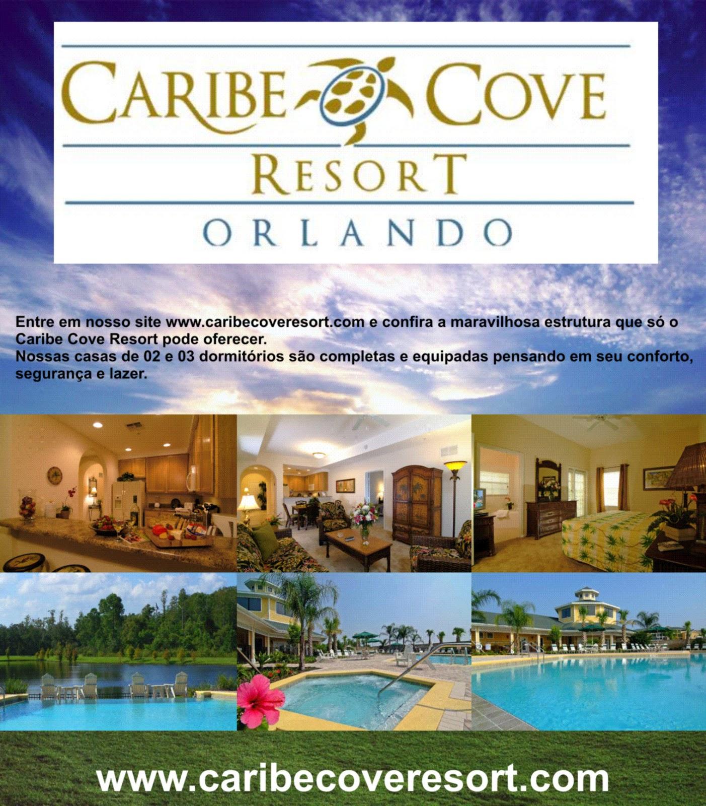 O Melhor de Orlando  FL Caribe Cove Resort