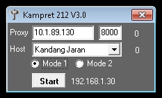 Inject Telkomsel Kampret 212 V3.0 20 September 2015