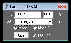 Inject Telkomsel Kampret 212 V3.0 20 September 2015