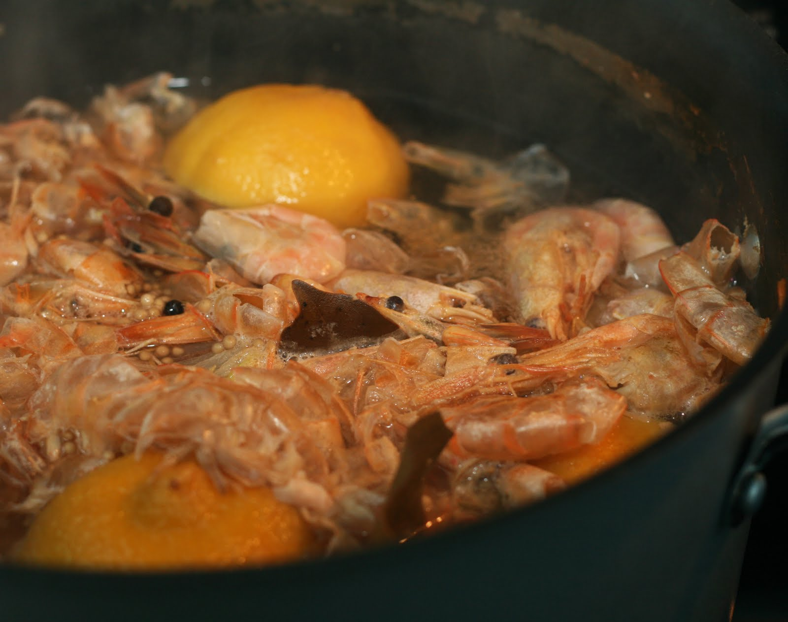 Coconut & Lime // recipes by Rachel Rappaport: Homemade Shrimp Stock