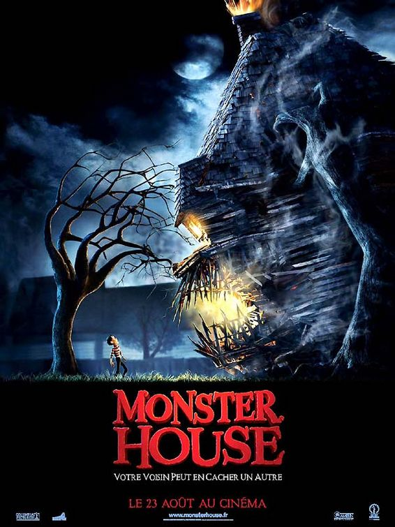 Production Art Monster House Monster House 2 Trailer