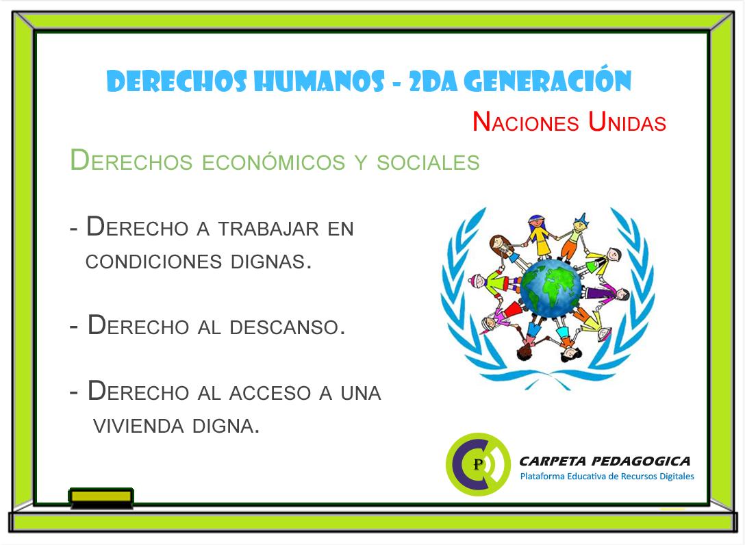 Derechos Humanos | Segunda generación - Naciones Unidas