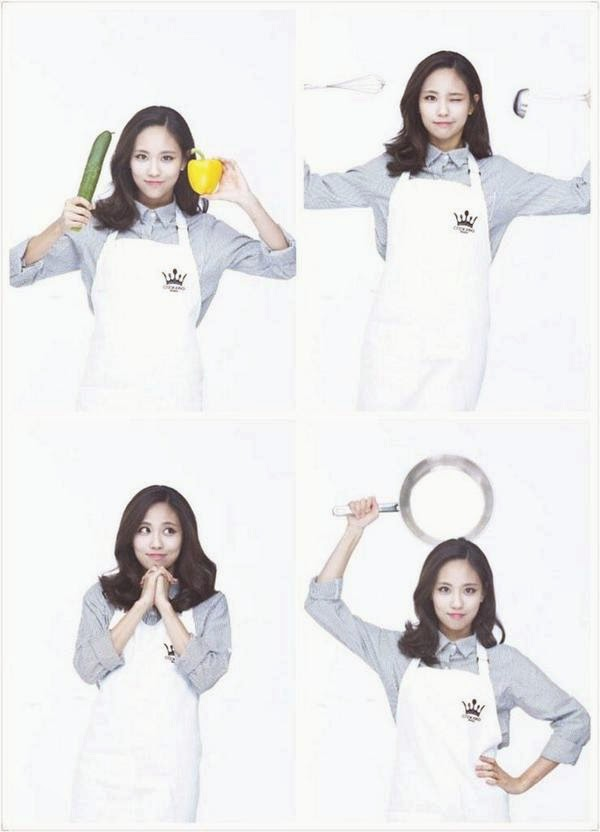 Miss A's Fei transform into a lovely chef for 'Cooking Korea'