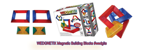 WEDGNETiX Magnetic Building Blocks #wedgits