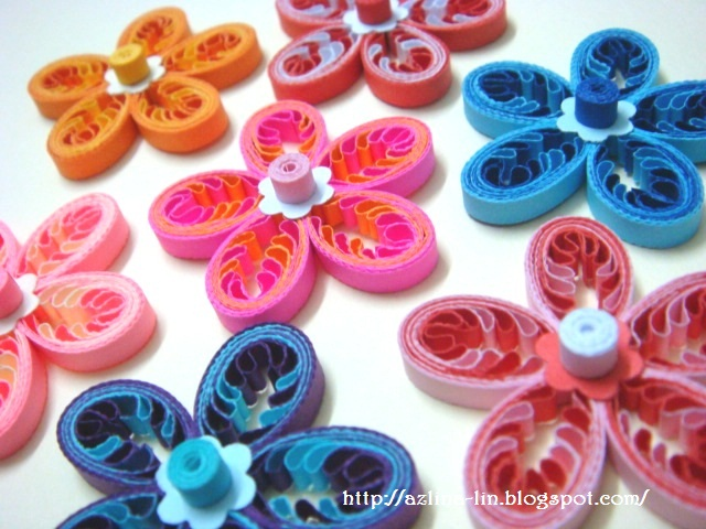 Using scraps of quilling strips for How to use quilling strips