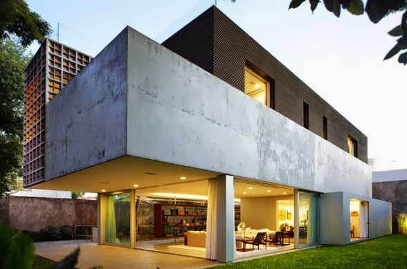 """TOP 7 UNIQUE HOUSE DESIGN: SAO PAULO SUMMER LUXURIOUS HOME DESIGN AS A LIVE-WORK SPACE, AND BY """"LIVE"""" IS NOT A TYPICAL HOUSE"""