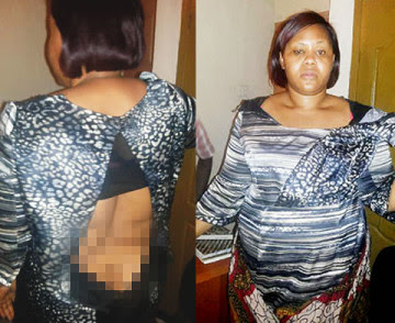Pastor Beats And Drags His Wife Out of His House In Lagos 3434