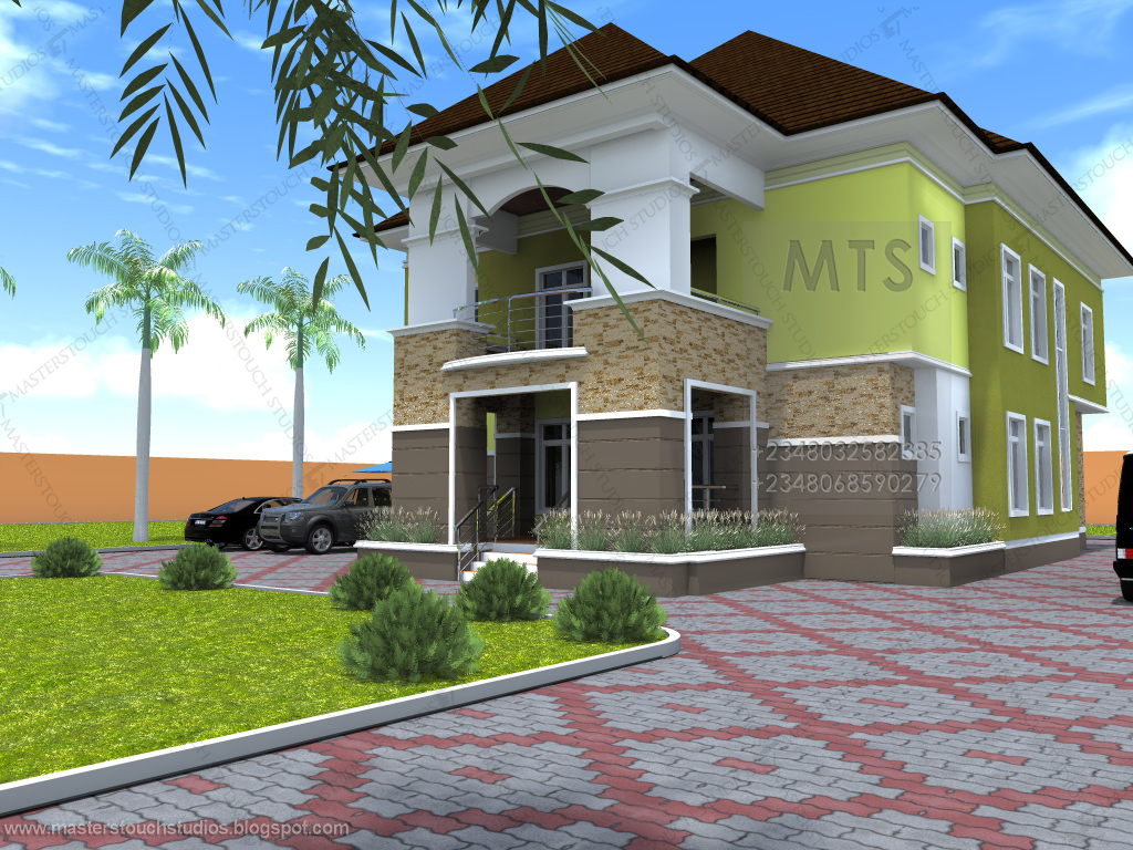 Mrs udeeme 5 bedroom duplex residential homes and for 5 bedroom bungalow designs