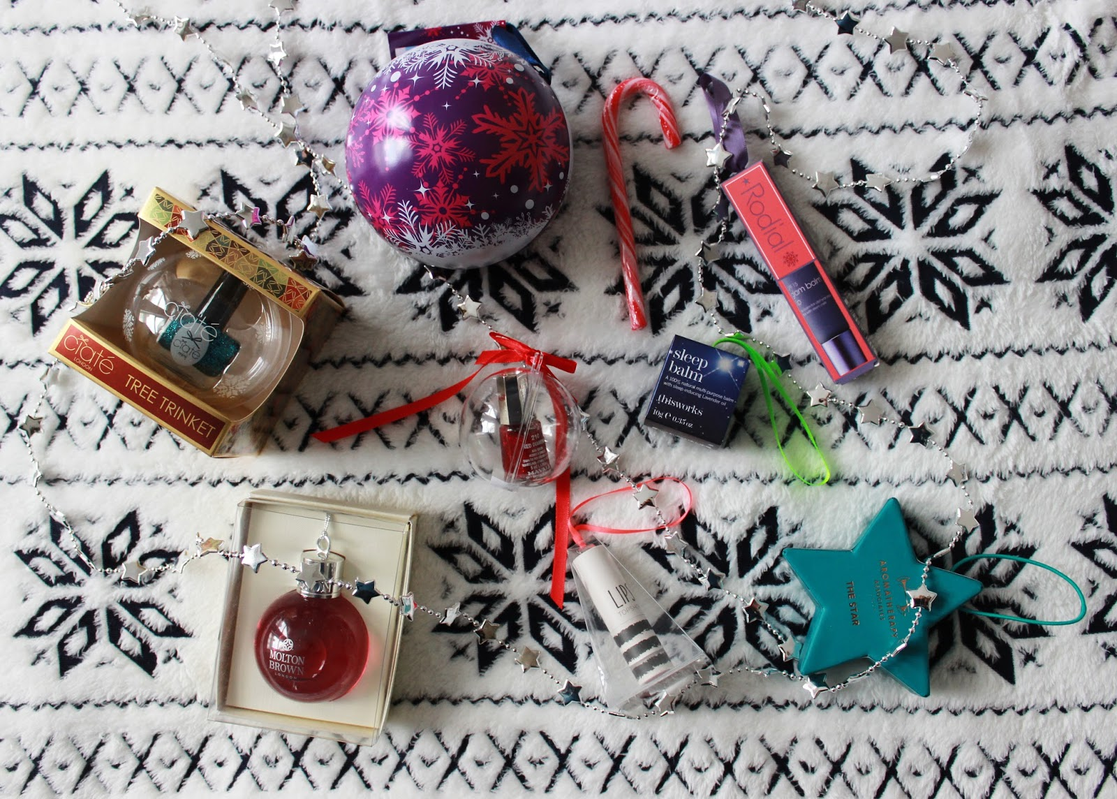 Christmas tree beauty gifts | Tales of a Pale Face | UK beauty blog