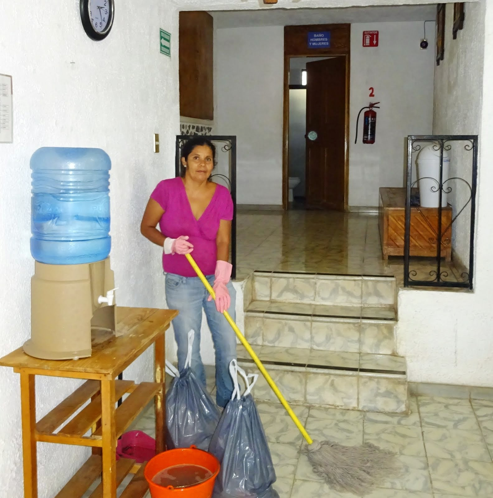 Keeping Hope House Clean
