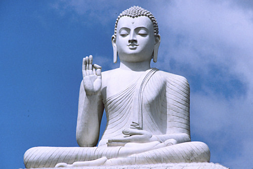 Picture of Buddha or Gautama Siddharta - founder of Buddhism
