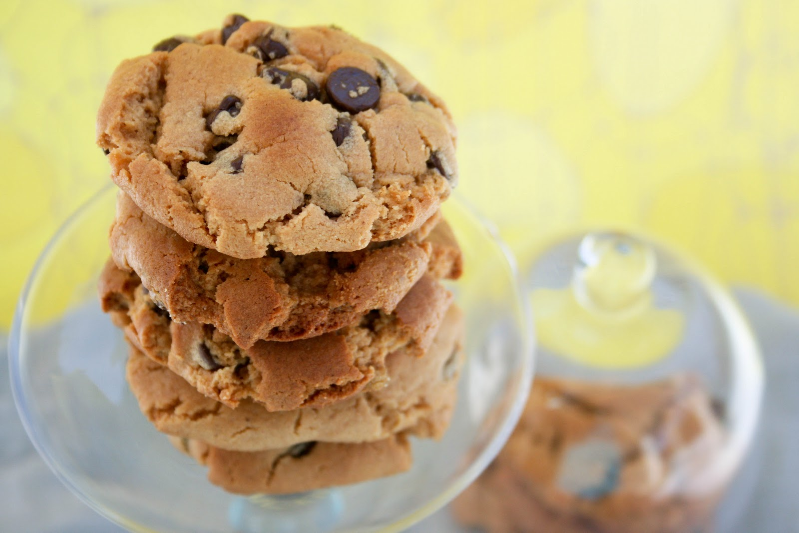 ... soon}, and these Flourless Peanut Butter Chocolate Chip Cookies