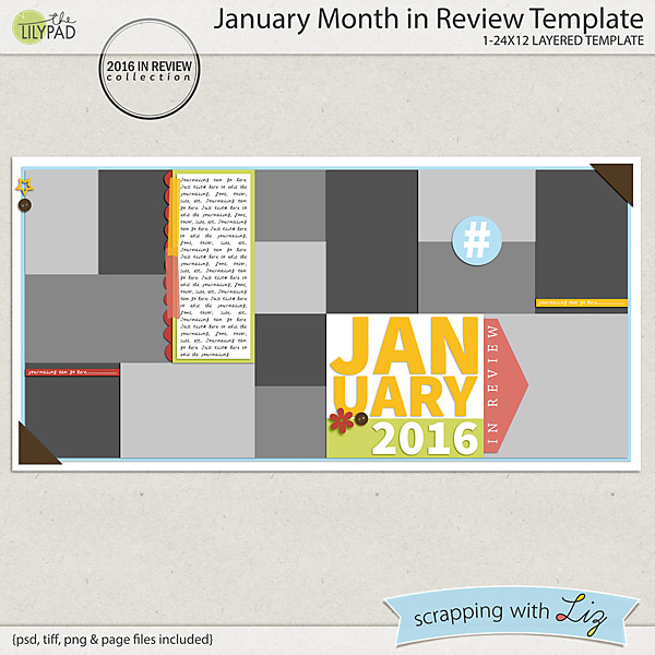 http://the-lilypad.com/January-Month-in-Review-Digital-Scrapbook-Templates.html
