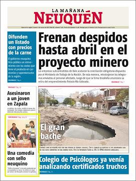 LA COOSA en los Diarios!