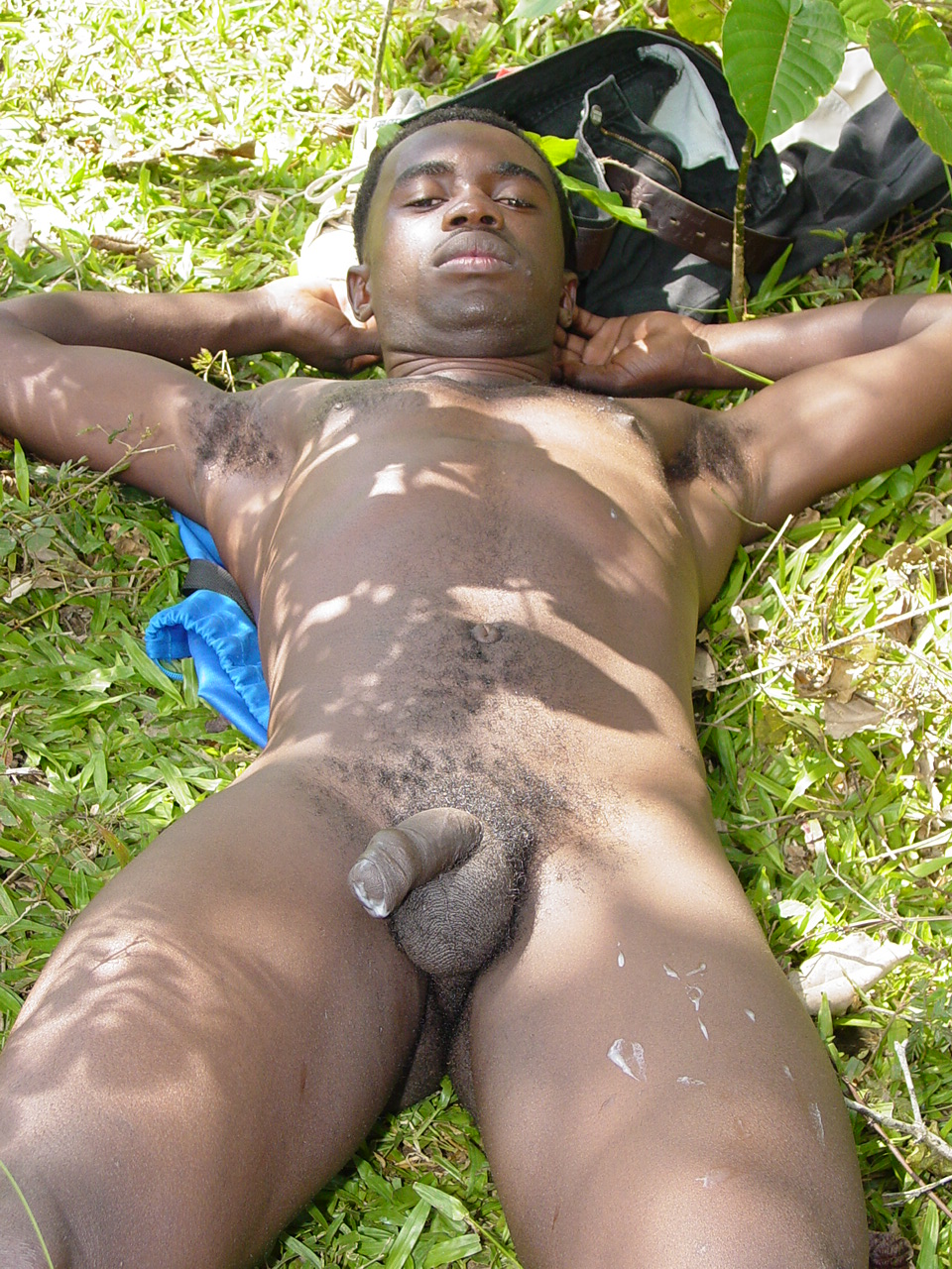 Dicks naked man Africa
