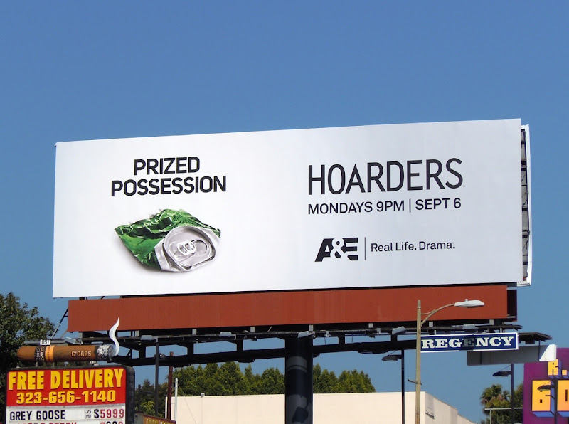 Hoarders Prized Possession billboard