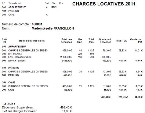 Ufc haute marne provision pour charges - Calcul charges de copropriete ...