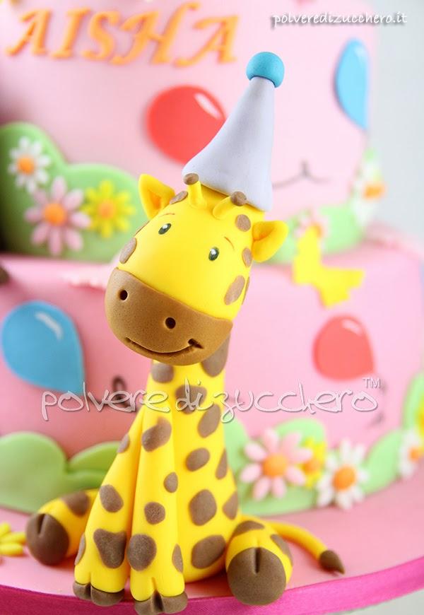 giraffa polvere di zucchero