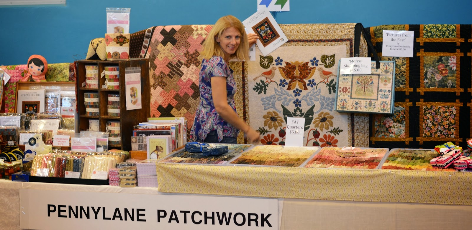 Pennylane Patchwork Day One Toowoomba Quilt Show