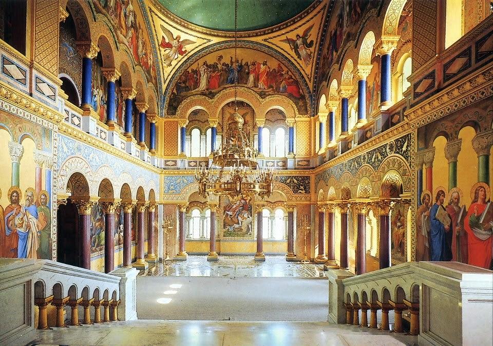 Salón del Trono en el Castillo de Neuschwanstein, Alemania