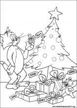 Desenho para colorir, desenhos, colorir, Tom & Jerry, Tom, Jerry