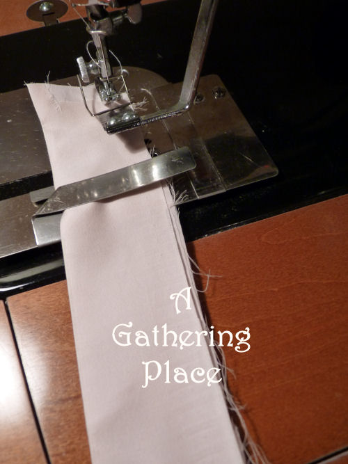 GATHERING FABRIC RUFFLES How To Make Them Perfect Adorable Archie Johnson And Sons Sewing Machine