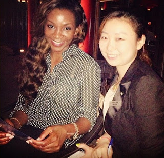 genevieve nnaji in china photos