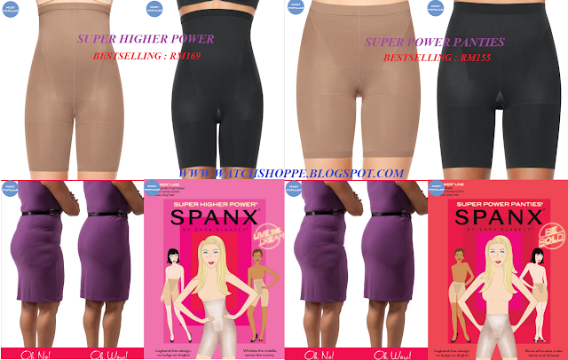MALAYSIA READY STOCK : BESTSELLING ITEMS FROM SPANX