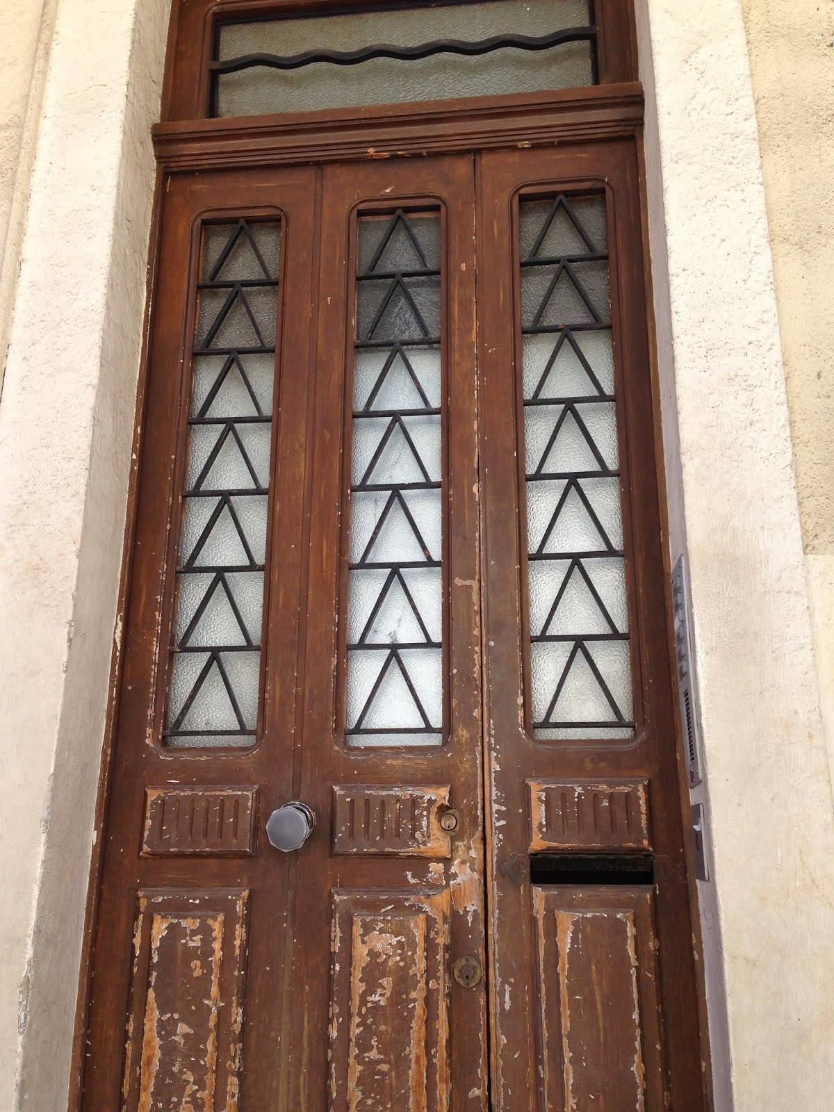 art deco door, Cannes