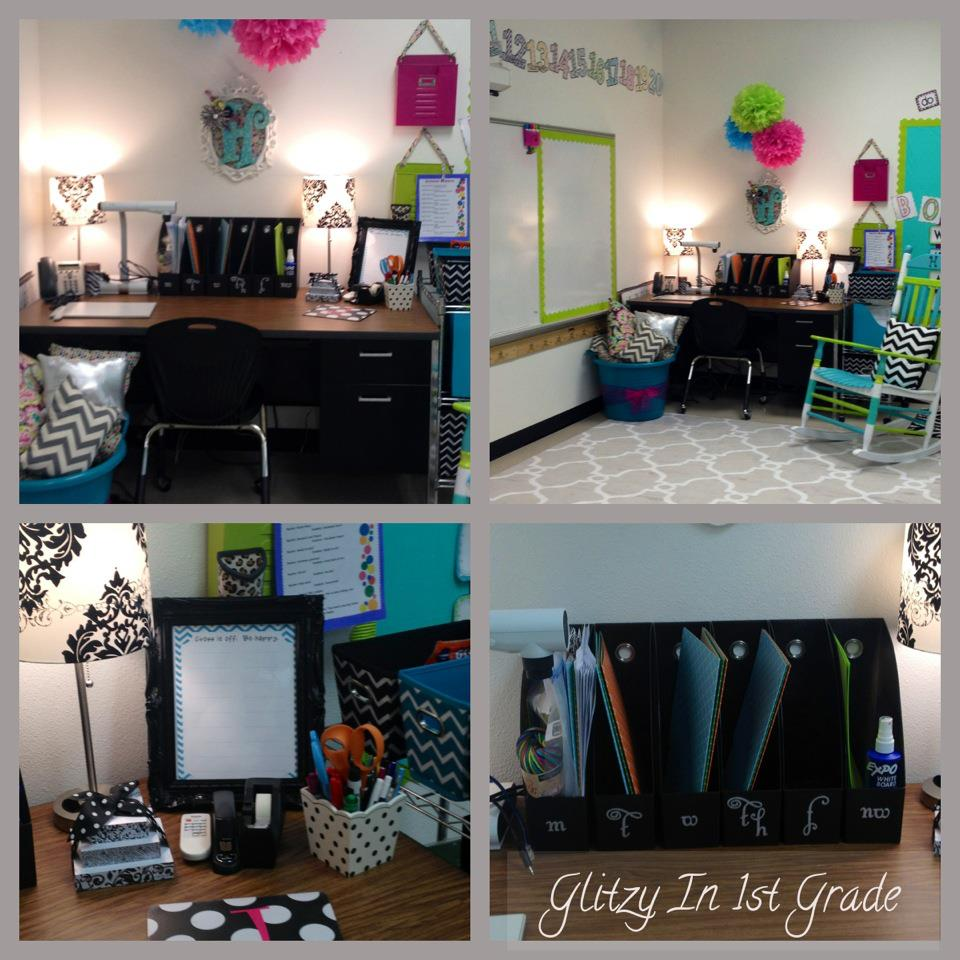 Classroom Decor And Ideas ~ Glitzy in st grade classroom decor