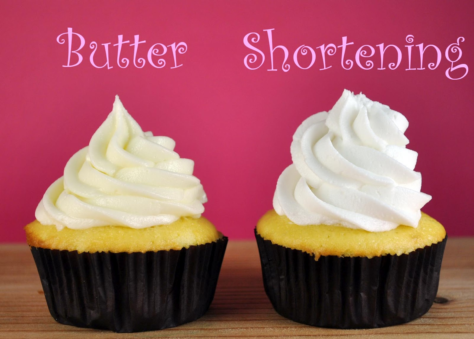 Cupcake Decorating 101: Frosting - Butter or Shortening ...